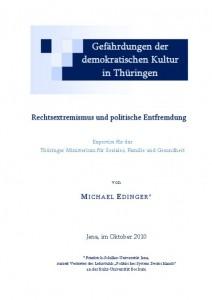 Gefährdungen der demokratischen Kultur in Thüringen [jpg]