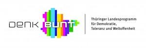 Logo Denk Bunt mit Unterzeile rechts [CMYK]