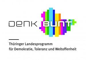 Logo Denk Bunt mit Unterzeile [CMYK]